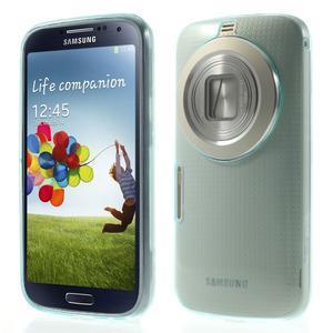 Gélové Ultraslim puzdro na Samsung Galaxy K Zoom- svetlo modré - 1