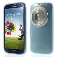 Gélové Ultraslim puzdro na Samsung Galaxy K Zoom- modré - 1/6