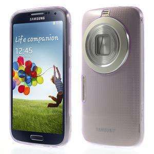 Gélové Ultraslim puzdro na Samsung Galaxy K Zoom- fialové - 1