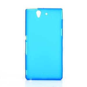 Gélové puzdro na Sony Xperia Z L36i C6603- modré - 1