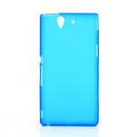 Gélové puzdro na Sony Xperia Z L36i C6603- modré - 1/7