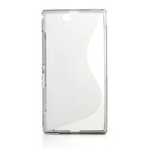 Gelove S-line pouzdro na Sony Xperia Z ultra- šedé - 1