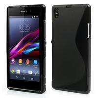 Gelové S-line pouzdro na Sony Xperia Z1 C6903 L39- černé - 1/5