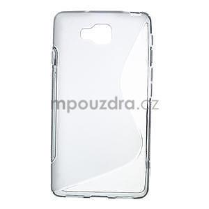 Gélové S-line  puzdro pre LG Optimus L9 II D605- šedé - 1