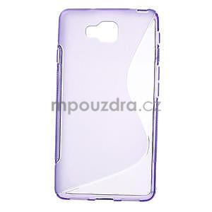 Gélové S-line  puzdro pre LG Optimus L9 II D605-fialové - 1