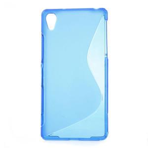 Gélové S-line puzdro pre Sony Xperia Z2 D6503- modré - 1