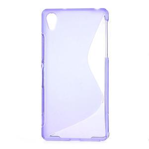Gélové S-line puzdro pre Sony Xperia Z2 D6503- fialové - 1