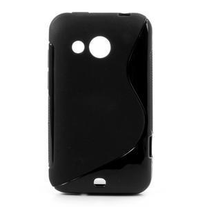 Gélové S-line puzdro pre HTC Desire 200- čierné - 1