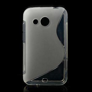 Gélové S-line puzdro pre HTC Desire 200- transparentný - 1