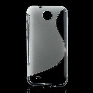 Gélové S-line puzdro pre HTC Desire 300 Zara mini- transparentný - 1