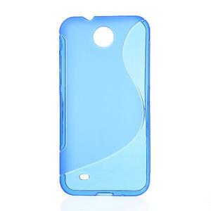 Gélové S-line puzdro pre HTC Desire 300 Zara mini-modré - 1