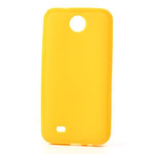 Gélové puzdro pre HTC Desire 300 Zara mini -žlté - 1