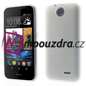 Gélové puzdro na HTC Desire 310- biele - 1
