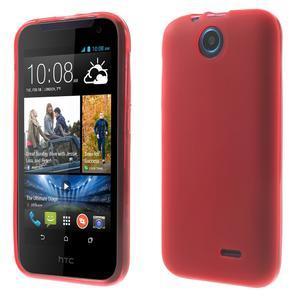 Gélové puzdro na HTC Desire 310- červené - 1