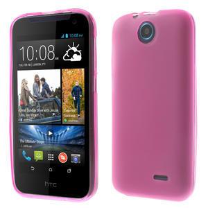 Gélové puzdro na HTC Desire 310- růžové - 1