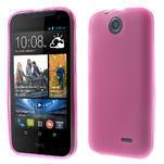 Gélové puzdro na HTC Desire 310- růžové - 1/6