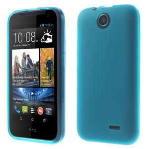 Gélové puzdro pre HTC Desire 310- svetlo modré - 1