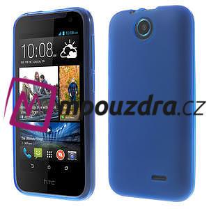 Gélové puzdro pre HTC Desire 310- modré - 1