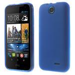 Gélové puzdro pre HTC Desire 310- modré - 1/6