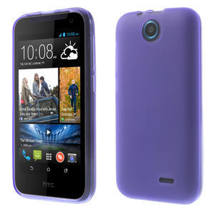 Gélové puzdro pre HTC Desire 310- fialové - 1