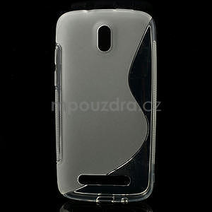 Gélové puzdro pre HTC Desire 500- transparentný - 1