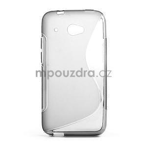 Gelove S-line puzdro pre HTC Desire 601- šedé - 1