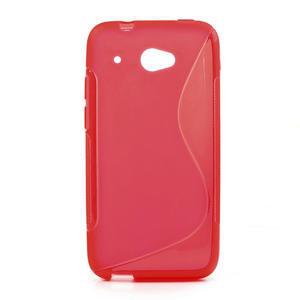 Gelove S-line puzdro pre HTC Desire 601- červené - 1