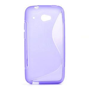 Gelove S-line puzdro pre HTC Desire 601- fialové - 1