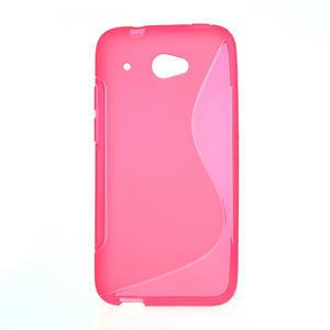Gelove S-line puzdro pre HTC Desire 601- růžové - 1
