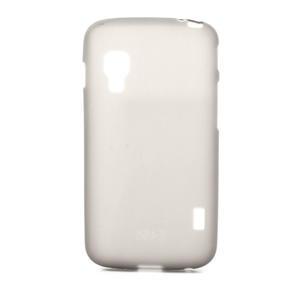 Matné gélové puzdro pre LG Optimus L5 Dual E455- šedé - 1