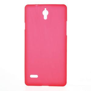 Gélové Cover puzdro na Huawei Ascend G700- červené