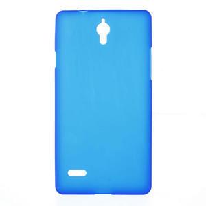 Gélové Cover puzdro na Huawei Ascend G700- modré