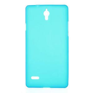 Gélové Cover puzdro na Huawei Ascend G700- svetlo modré
