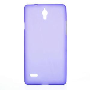 Gélové Cover puzdro na Huawei Ascend G700- fialové