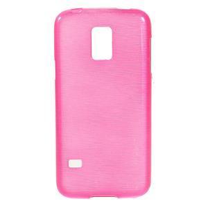 Kartáčové pouzdro na Samsung Galaxy S5 mini G-800- růžové - 1