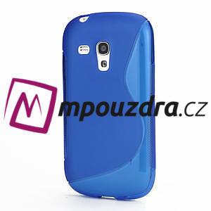 Gélové S-line puzdro pro Samsung Galaxy S4 mini i9190- modré