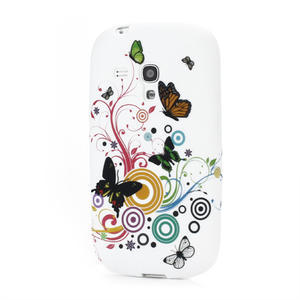 Gelové pouzdro pro Samsung Galaxy S3 mini i8190- motýlek - 1