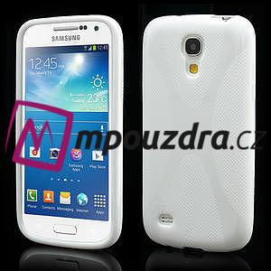 Gelové X pouzdro pro Samsung Galaxy S4 mini i9190- bílé - 1