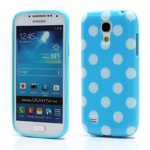 Gélový Puntík pro Samsung Galaxy S4 mini i9190- modrá - 1