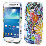 Gélové puzdro pro Samsung Galaxy S4 mini i9190- farebné kvety - 1/5