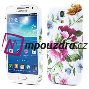 Gélové puzdro pro Samsung Galaxy S4 mini i9190- kvetinka - 1