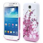 Gelové pouzdro pro Samsung Galaxy S4 mini i9190- kvetoucí větvička - 1/6