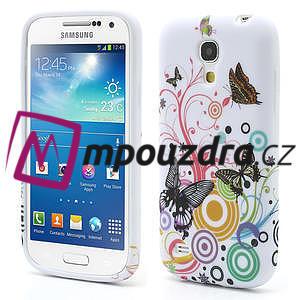 Gelové pouzdro pro Samsung Galaxy S4 mini i9190- kruhový motýl - 1