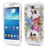 Gélové puzdro pro Samsung Galaxy S4 mini i9190- farebný motýl - 1/5