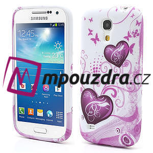 Gélové puzdro pro Samsung Galaxy S4 mini i9190- dve srdca - 1
