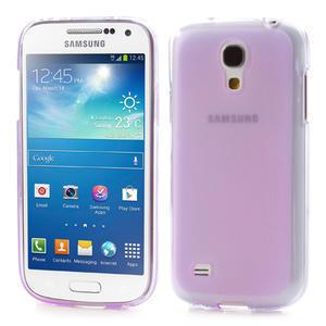 Gélové puzdro na Samsung Galaxy S4 mini i9190- fialové - 1