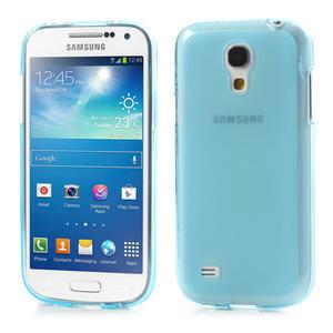Gélové puzdro na Samsung Galaxy S4 mini i9190- modré - 1