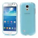 Gélové puzdro na Samsung Galaxy S4 mini i9190- modré - 1/7