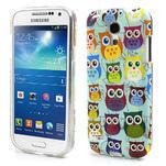 Gelové pouzdro na Samsung Galaxy S4 mini i9190- krásné sovy - 1/5