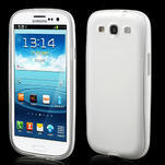 Gelové rámované pouzdro na Samsung Galaxy S3 i9300- transparentní - 1/6